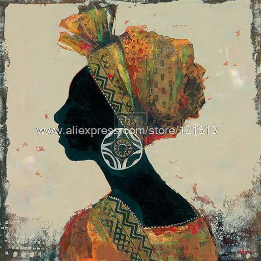 Karen Dupre Sadwana African Woman Headdress African American Art Large Wall Art Bed Room Background Free & Karen Dupre Sadwana African Woman Headdress African American Art ...