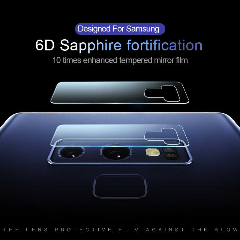 Akcoo Cameral Lens Protector film voor Samsung Galaxy S9 Plus S7 rand s8 S10 Plus Note 8 9 10 Plus terug camera beschermende film