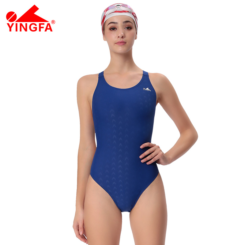 809d2c10e4 Yingfa fina approved one piece training competition swimwear women ...