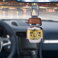 Car Air Freshener Perfume Pendant Scent Odor Diffuser Automobiles Interior Essential Oil Smell Freshener Perfume In The Car Gift