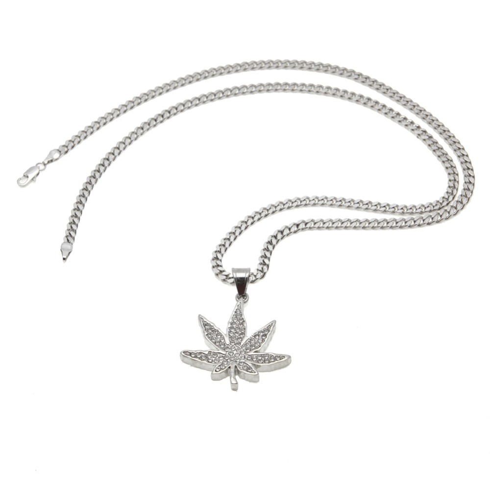 Vogue golden jamaica esserteauiana hemp pendants necklaces women vogue golden jamaica esserteauiana hemp pendants necklaces women men rhinestone hip hop jewelry gifts weed herb chains in pendant necklaces from jewelry aloadofball Images