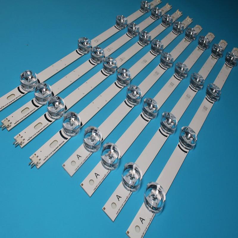 Brand New Backlight LED Strips LED Bar For LC420DUE LG TV LG42LB580V INNOTEK DRT 3.0 42