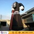 Grande 10 m alta inflable Diablo con Hoz para la decoración de halloween con llevó el juguete de iluminación