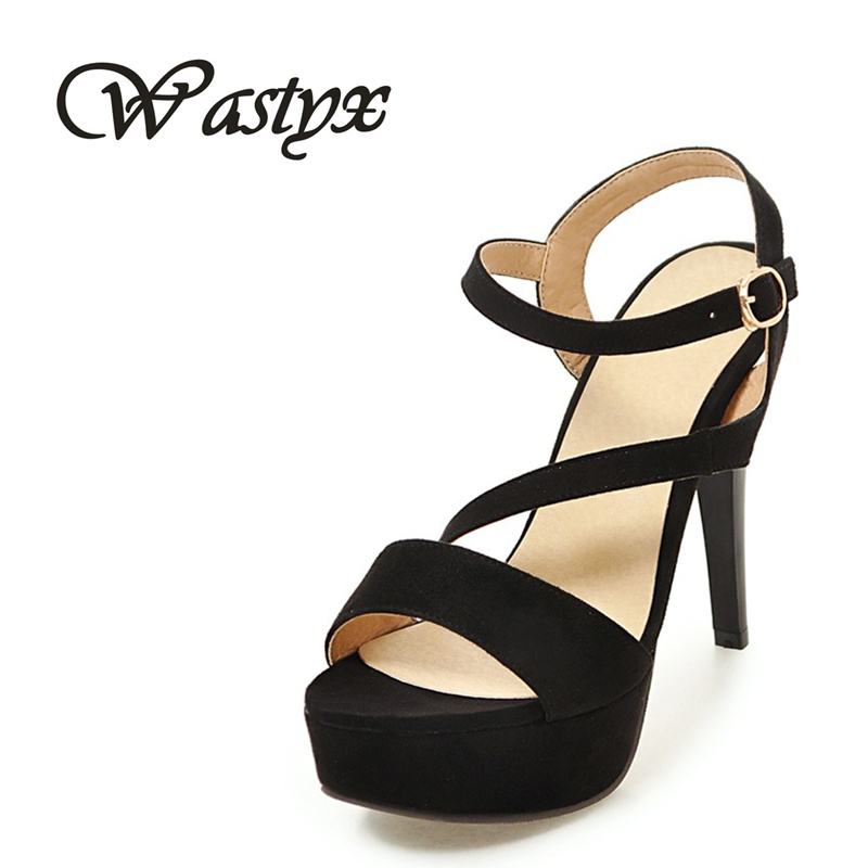 Fashion women Sandals 2017 new high heels shoes women sexy super heel ladies shoes Summer platform zapatos mujer big size 34-43 2017 summer new rivet wedges sandals creepers women high heel platform casual shoes silver women gladiator sandals zapatos mujer