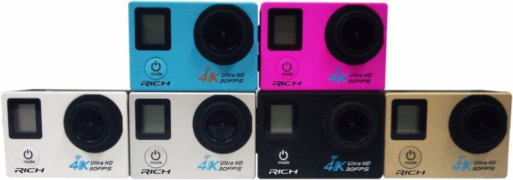 Dhl 10 Teile/los Sj8000d 4 Karat Action Kamera 2,0 Doppel Lcd Display 16mp Sport Wifi Kamera 30 Mt Wasserdichte 170 Winkel Hdmi Sport Kamera Dauerhafte Modellierung Unterhaltungselektronik
