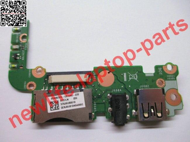 Prix pour D'origine pour ordinateur portable S551L S551LN USB AUDIO CARTE SD conseil S551LN IO CONSEIL bon test livraison gratuite