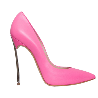 2017 Spring Autumn women sexy high heel pointed toe super high thin heels slip-on women office shoes black red pink silver  2017 women lady shoes flat heel spring autumn boat pointed toe slip on casual simple mixed color pink yellow blue black red