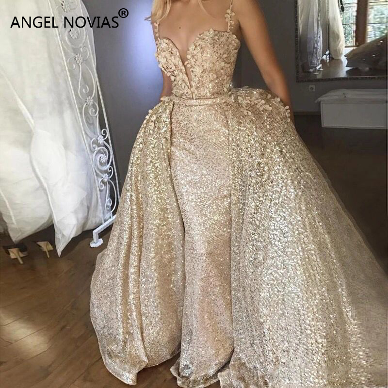 Aliexpress Buy Angel Novias Long Abendkleider Arabic Evening