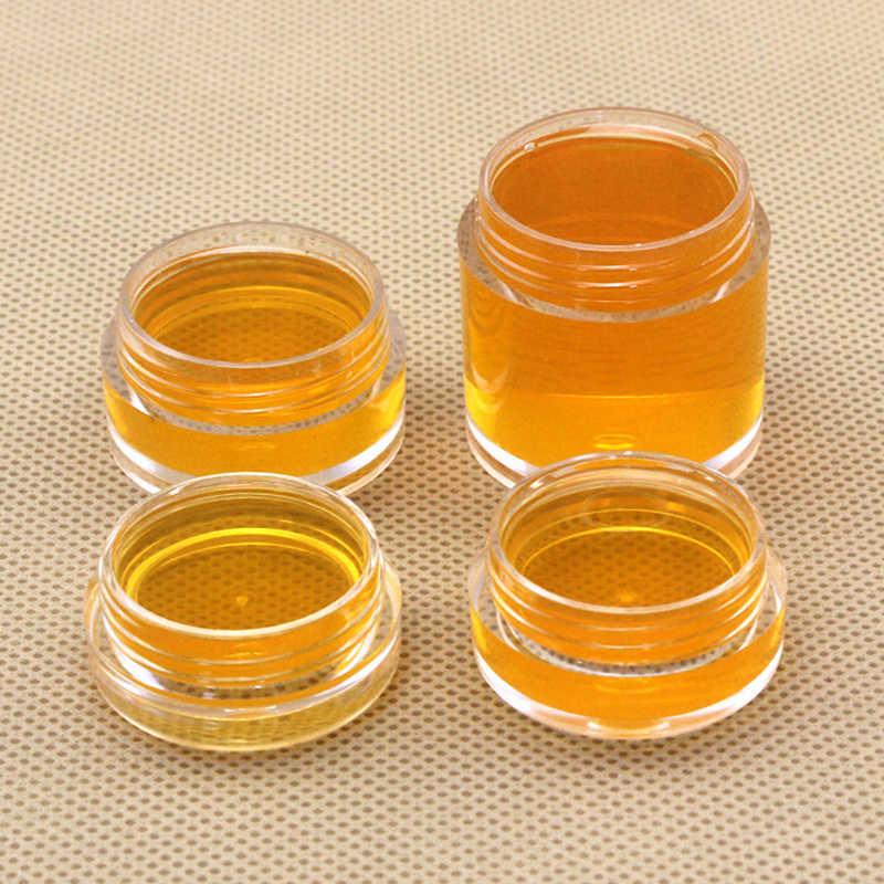 5Pcs Mini Refillable Bottles Cosmetic Empty Jar Pot Eyeshadow plastic Makeup Bottles Face Cream Nail Container Storage BoxM03157