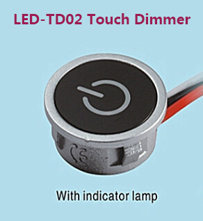 Hot 3Way Dimmers 12V Touch LED Dimmer For LED Lighting ...