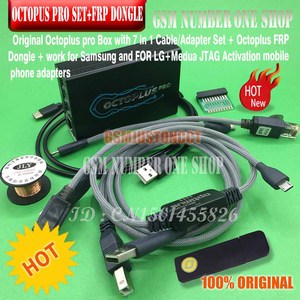 Image 2 - octoplus pro Box 9 in 1 set  ( Activated for Samsung + LG + eMMC / JTAG + Octoplus FRP Dongle + 5 cables )