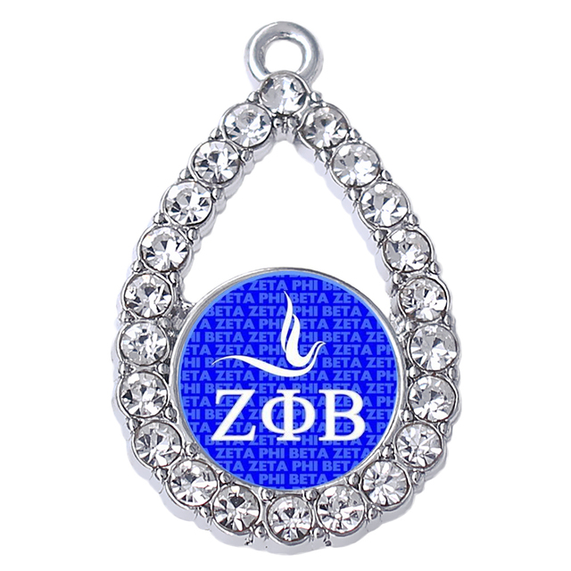 Personalized Student Greek Society Zeta Phi Beta Pigeon Sticker