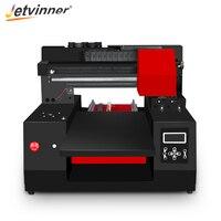 Jetvinner 3060 Automatic A3 UV Printer Inkjet Flatbed Printer with UV ink set for Bottle, Phone Case, T shirt, Leather, Wood