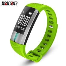 Jincor G20 Интеллектуальный движение Bluetooth кольцо руки измерять кровяное давление сердечного ритма ЭКГ мониторинга Intelligent напоминание браслеты
