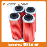 4 X Oil Filter Filter Cleaner KTM EXCF SXF XCF XCFW XCW EXC EXCR SMR Six
