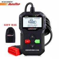 OBD OBD2 Diagnostic Car Scanner Universal ODB 2 Code Reader KONNWEI KW590 Autoscanner Diagnostic Tool Better