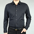 Blue doradus 2014 winter men's clothing long-sleeve thickening thermal mercerized cotton shirt male casual shirt