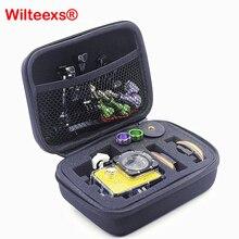 WILTEEXS открытый противоударный портативный хранения Защитный чехол сумка для HD Hero5 4 3+ 3 2 1 Sj4000 sj5000 XIAOYI камеры черный