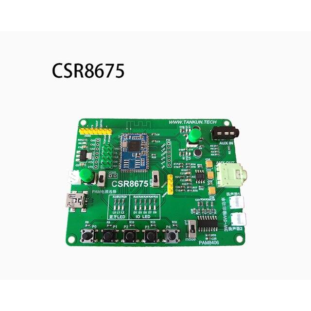 Csr8675 บลูทูธบอร์ดเครื่องขยายเสียงหูฟัง 5.0APTXHD ดีกว่า LADC