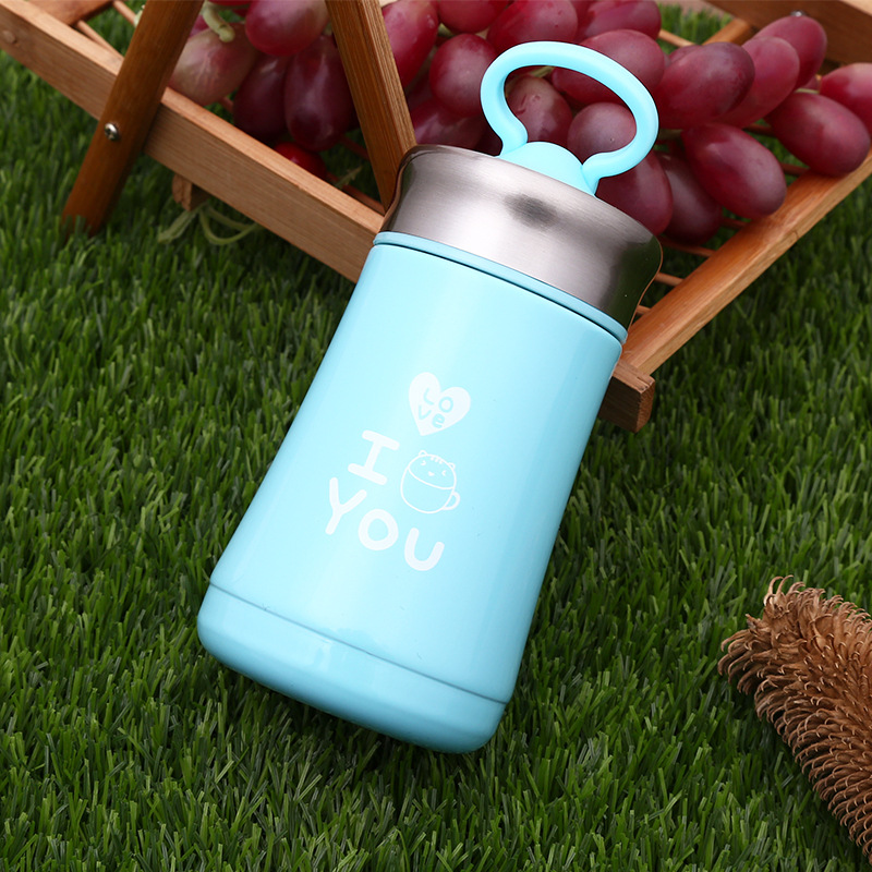 Mini stainless steel mug creative mobile phone holder outdoor portable cup advertising gifts