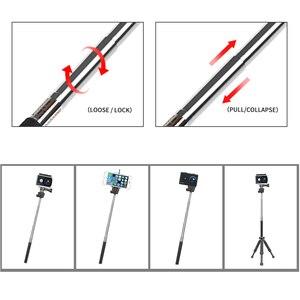 Image 4 - SHOOT evrensel eylem kamera aksesuarı GoPro Hero 9 8 7 6 5 siyah Xiaomi Yi Lite 4K + sjcam Eken H9 GoPro Hero 8 aksesuarları