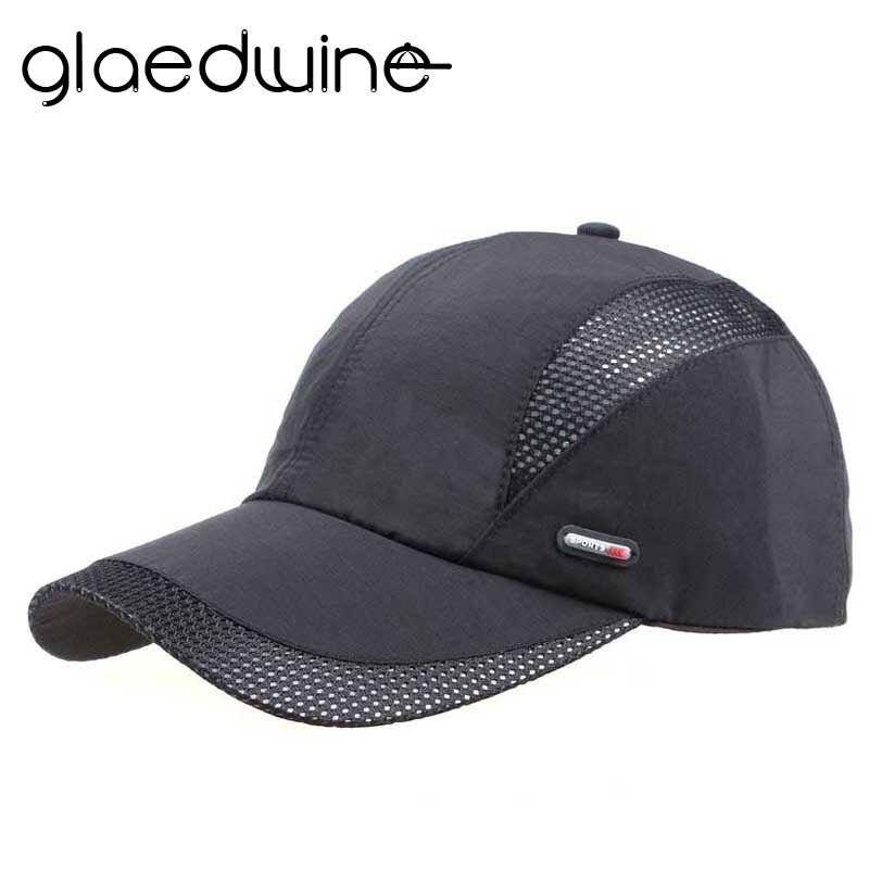 d9d5c10d922cb Glaedwine nueva Alta Calidad casual gorra de béisbol para hombres gorras  Mesh SnapBack CAPS deportes al