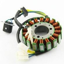 цена на Motorcycle Ignition Magneto Stator Coil for United Motor V2C-650R V2S-650 2006-2008 Magneto Engine Stator Generator Coil