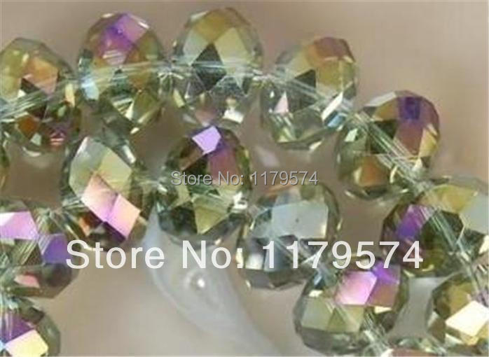 Wholesale <font><b>3x4mm</b></font> Gray Multicolor <font><b>Crystal</b></font> Faceted Jaspers Loose Beads WJ137 image