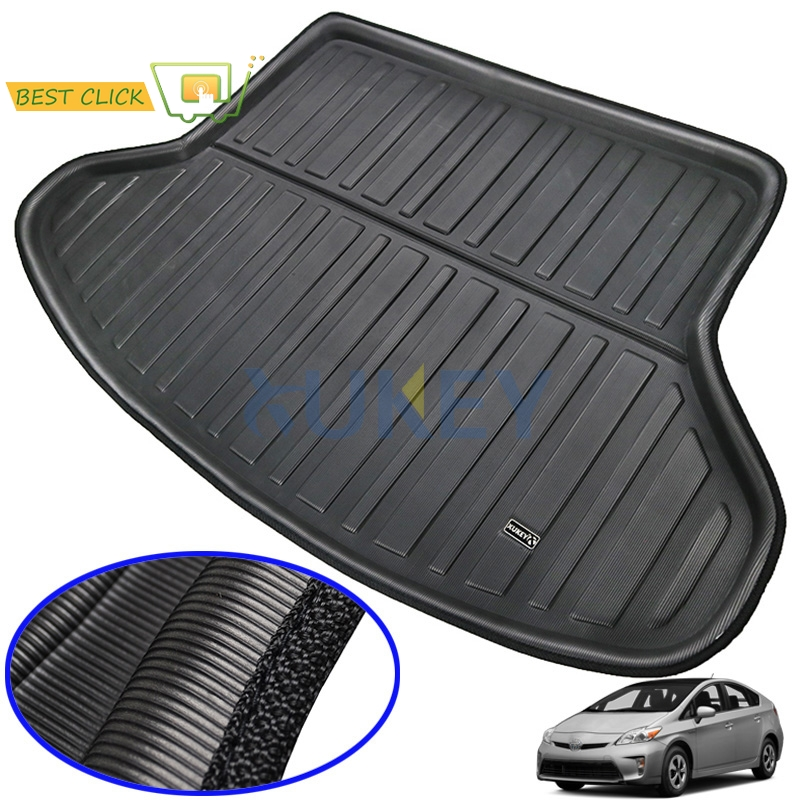 For Toyota Prius 2004-2015 Rear Trunk Cargo Liner Boot Mat Floor Carpet Tray Mud Kick 2005 2006 2007 2008 2009 2010 2011 2012