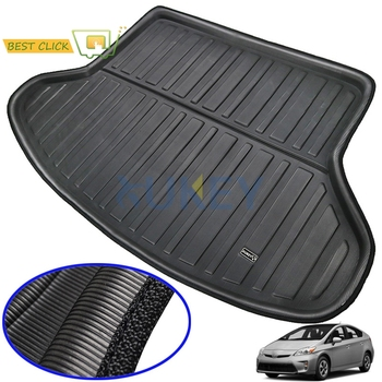 For Toyota Prius 2004-2015 Rear Trunk Cargo Liner Boot Mat Floor Carpet Tray Mud Kick 2005 2006 2007 2008 2009 2010 2011 2012 - discount item  45% OFF Interior Accessories
