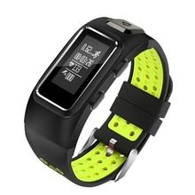 GPS Smartband Faixas de Freqüência Cardíaca Inteligente Inteligente Saúde Pulseiras Desgaste Android para IOS Inteligente Android phone