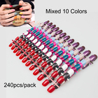 240pcs/pack Mixed 10...