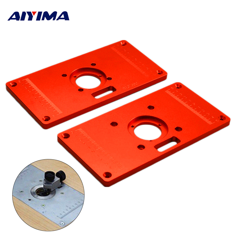 Woodworking tools aluminum router table insert plate woodworking woodworking tools aluminum router table insert plate woodworking benches routeros trimmer drilling centered in bit hole routers keyboard keysfo Gallery