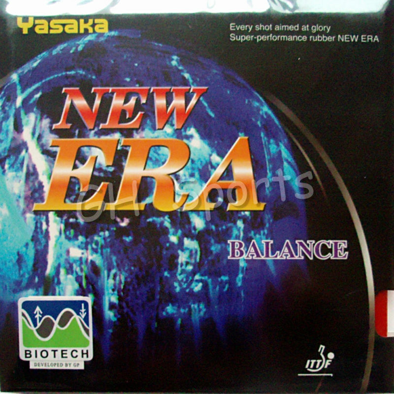 Yasaka NEW ERA BALANCE BIOTECH Pips-in Table Tennis PingPong Rubber With Sponge NO ITTF