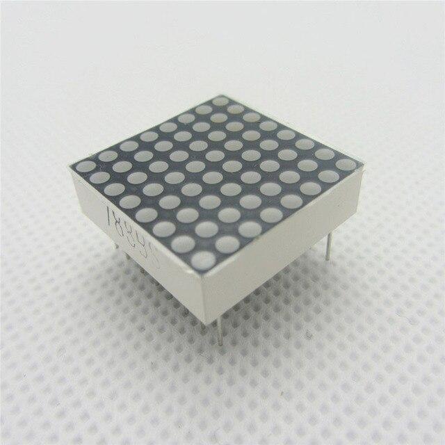 10 pcs 8x8 8*8 Mini Dot Matrix FAI DA TE Display Rosso Anodo Comune Tubo Digitale 16- pin 20 millimetri x 20 millimetri 1.9 millimetri FAI DA TE Elettronico LED Per Arduino