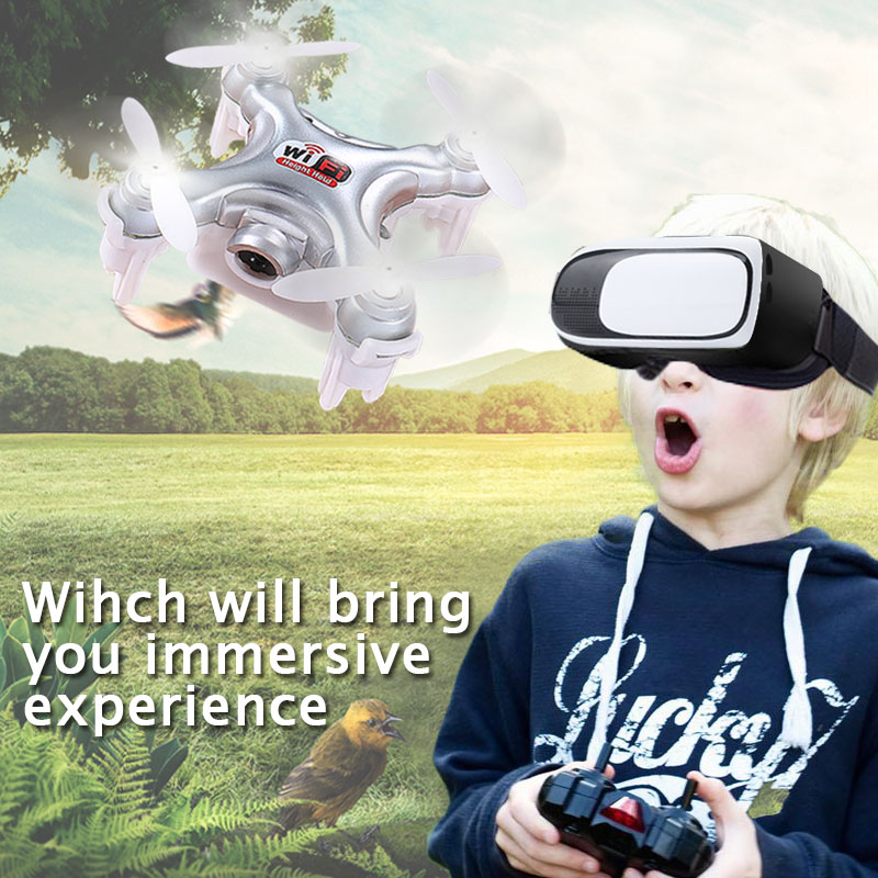 Cheerson  Mini Drone Single Handle Control 2.4G CX-10SD RC Quadcopter 6 Axis Gyro  RTF Drone Toy for Children Helicopter Toys