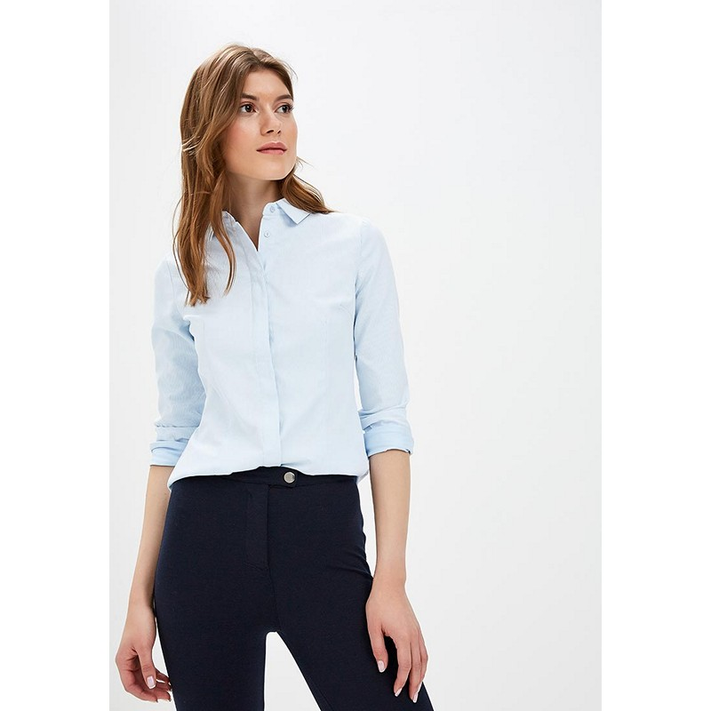 Blouses & Shirts MODIS M182W00385 blouse shirt clothes apparel for female for woman TmallFS dresses befree 1731075511 woman dress cotton long sleeve women clothes apparel casual spring for female tmallfs