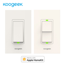 Koogeek Wifi Switch Light Switch for Apple HomeKit Siri Smart Remote Control Wall Switch Monitor Power Consumption[Only for IOS]