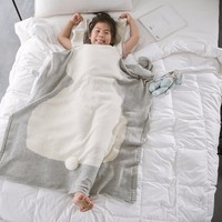 Baby Adult Quilt Blankets 100% cotton Soft portable knitted blanket thick travel Air Conditioning Plaids Blanket