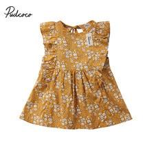 ae5baa86f Popular Vintage Floral Ruffles Dress Kids-Buy Cheap Vintage Floral ...