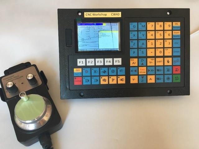 4 eixo CNC controlador substituir Mach3 USB CNC router gravura de perfuração de Controle servo controlador do motor de passo com a roda de mão