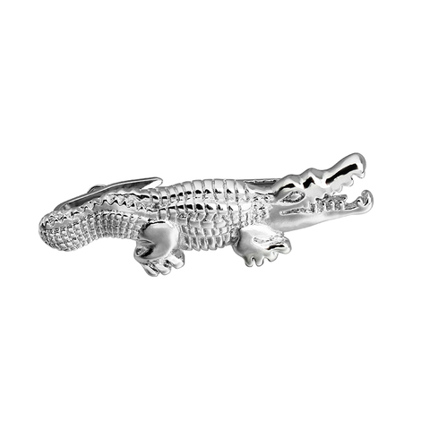 HAWSON 2 inch Tie Clip for Men-Novelty Crocodile Necktie Bar Clip Tie Pin Special Interesting Gift for Men Pakistan
