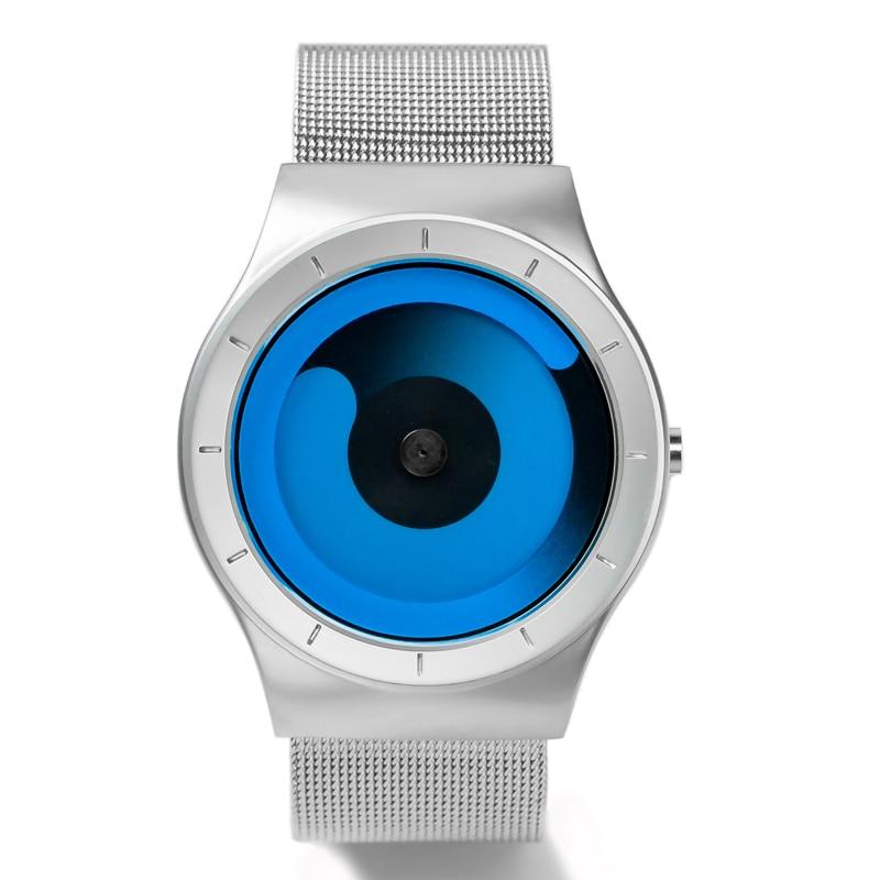 Finda Brand New 2018 Kreatywne Obrót Mężczyźni Zegarki Pasek - Męskie zegarki - Zdjęcie 1