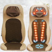 Multifunctional and Household Massage Chair Infrared Heated Open Back Electric Full-body Massage Cushion Free Shipping
