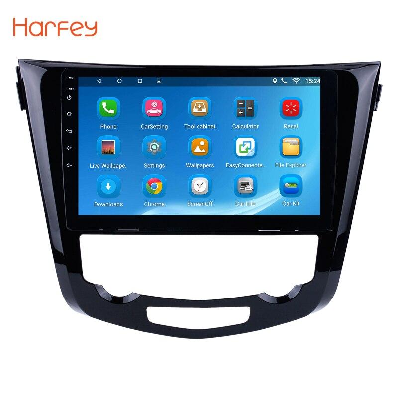 Harfey 10.1 Android 8.1/7.1 2Din Voiture Radio Pour 2014 Nissan QashQai X-trail GPS Navigation Audio multimédia Lecteur Tête Unité