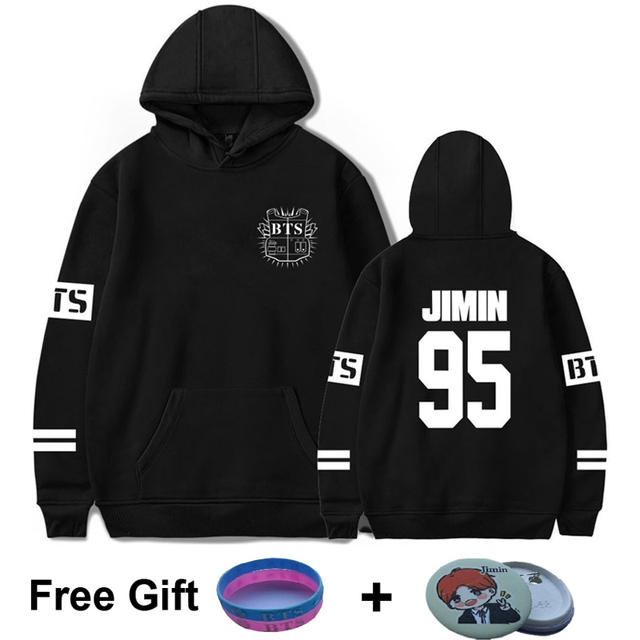 d1e72d8a6b70d BTS 95 Jimin Hoodies Women Kpop Harajuku Bangtan Boys sweatshirt Womens men  hoodie bts album hoodies plus size winter clothes