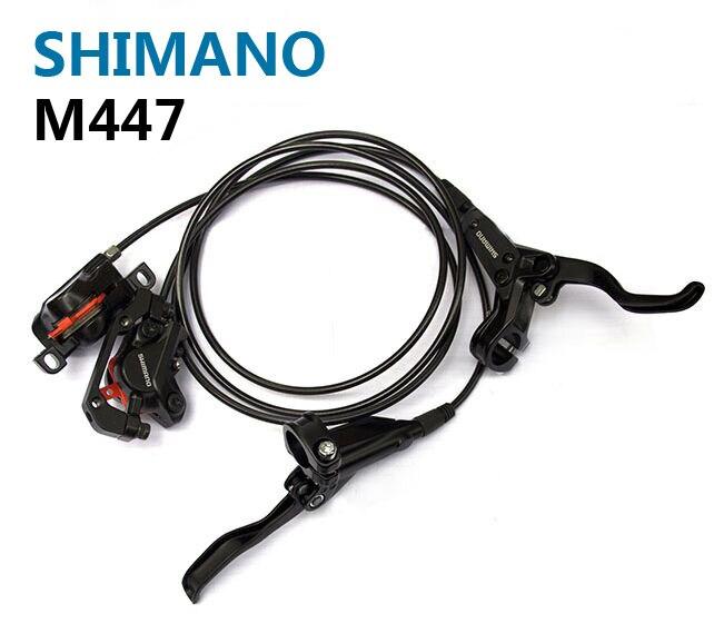 Freins hydrauliques Shimano M447 pour vélos frein à BR-BL-M447 vtt plaquettes de frein à disque vtt de montagne bon à M315 M355 M365