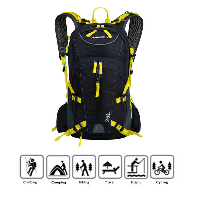 Online Shop Lixada 25L Waterproof Breathable Bicycle Bike Shoulder Backpack  Ultralight Outdoor Sports Riding Travel Hydration Water Bag  277e81d91