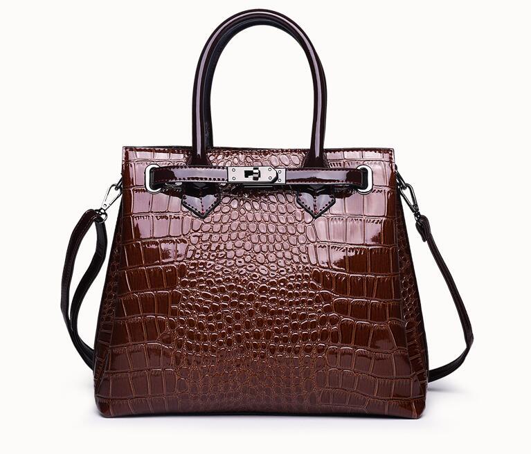 Ragcci Crocodile pattern Women Bag Ladies Cross Body Messenger Shoulder Bags Handbags Women Famous Brands Bolsa