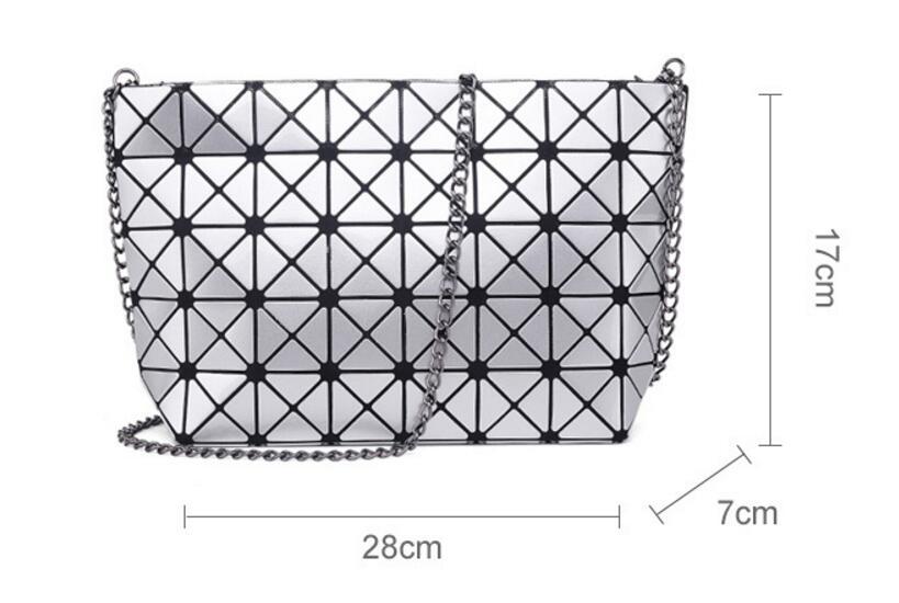 18 Famous Bao Bags Women Geometric Lingge Envelope Handbag Small Chain Clutch Ladies Shoulder Bags Messenger Bag Bao Bolsa 12